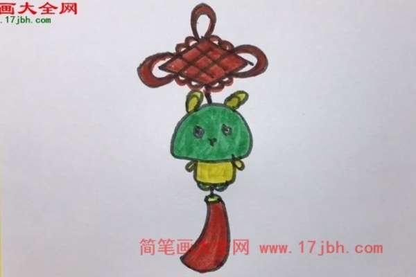 中国结简笔画