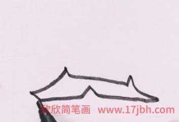 天安门简笔画