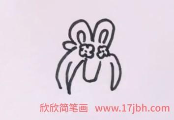 嫦娥简笔画