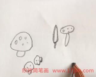 蔬菜简笔画