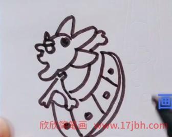 航海王万里阳光号简笔画