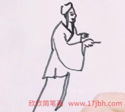 水浒传简笔画