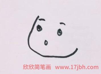 向日葵简笔画