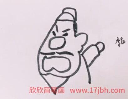 水浒传q版人物简笔画