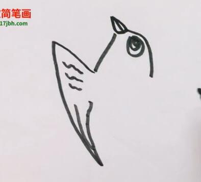 燕子简笔画