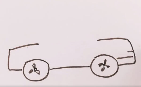 小汽车简笔画教程