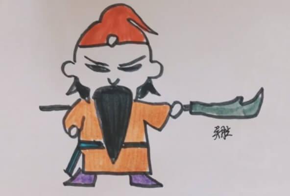 水浒英雄简笔画