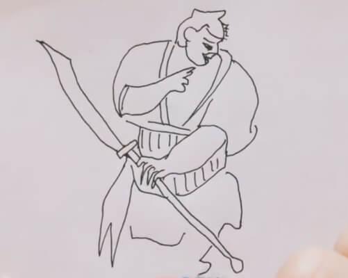水浒传简笔画人物