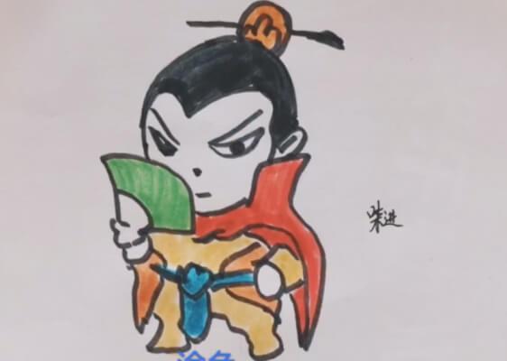 水浒传图片简笔画