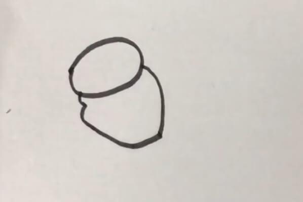 小金鱼简笔画彩色